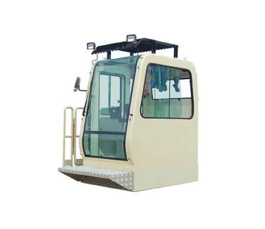 起重机履带吊驾驶室(带走台)