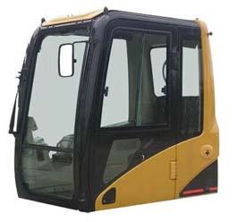 挖掘机驾驶室前窗的设计需要注意什么